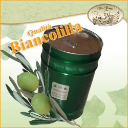 Olio Extravergine d' Oliva Qualità Biancolilla da 25 Lt