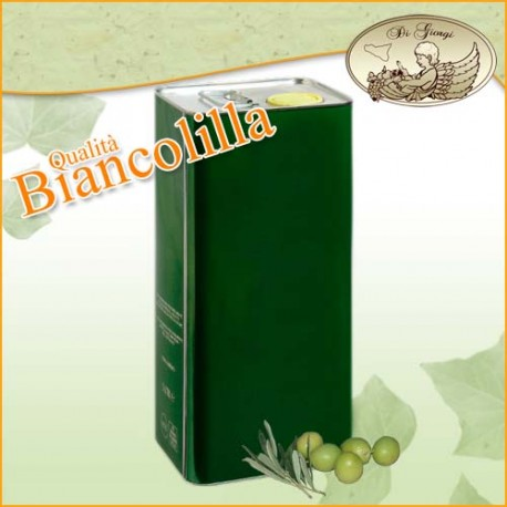 Olio Extravergine d' Oliva Qualità Biancolilla da 5 Lt